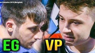 VP VS EG - VIRTUS.PRO VS EVIL GENIUSES -  ESL One Katowice 2018 Game 1