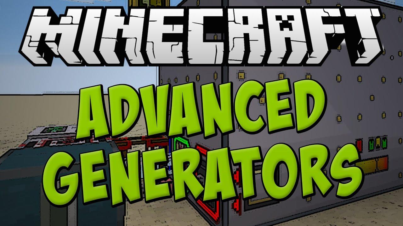 Advanced Generators Mod Spotlight Best Power Generation Minecraft 1 7 10 Youtube