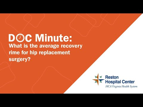 How Long Is The Average Recovery Time For Hip Replacement Surgery
