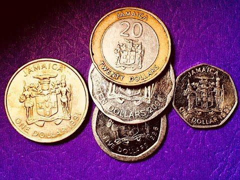 Jamaica Coin Collection 1991-2008 $1, $5,  $10, $20