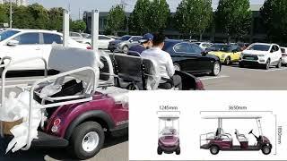 Solar Golf Car с двигателем по технологии Дуюнова