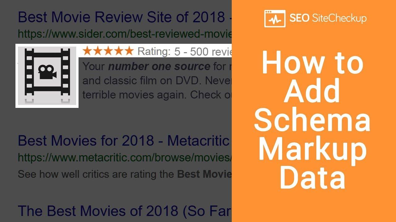 How To Add Schema Markup Youtube