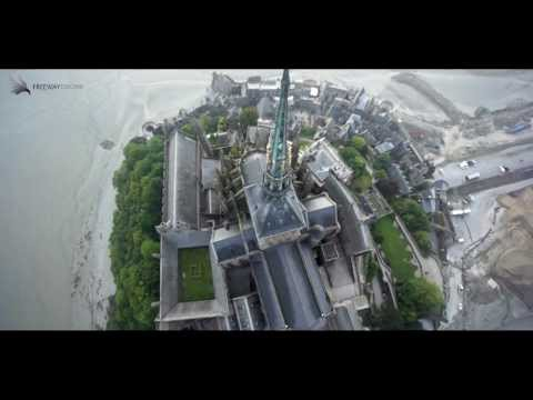 Le Mont St Michel en Drone / France TV Sport / Tour de France 2013.