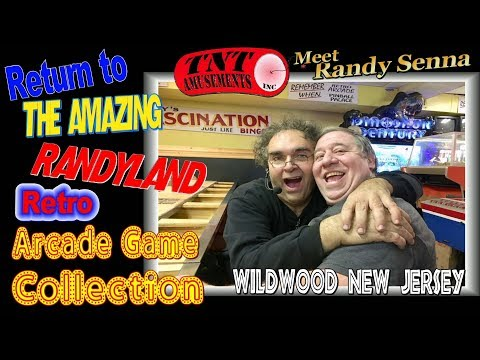 #1324 RETURN TO RANDYLAND - Retro Arcade Video Game & Pinball PARADISE!  TNT Amusements