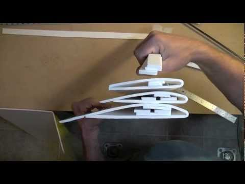 the Armin Wing: part 3 - Forming and Gluing the Wing