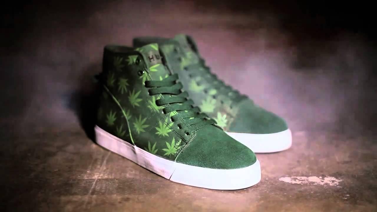 20 sneakersów inspirowanych marihuaną i świętem 420