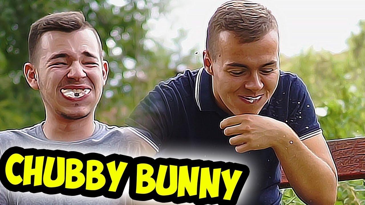 CHUBBY BUNNY CHALLENGE!!
