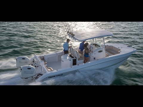 Twin Vee 260 OceanCat Video Preview And Review