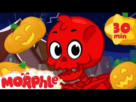 Kids Halloween With Morphle! - Magic Pet Morphle Halloween Video for children