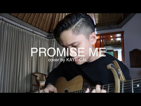 Promise Me - Beverly Craven (KAYE CAL Acoustic Cover)