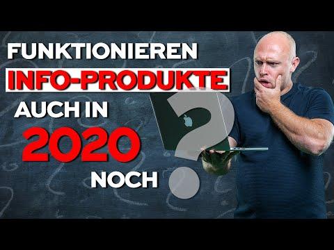 Funktionieren digitale INFOPRODUKTE auch in 2020 noch? Blick in die Zukunft????