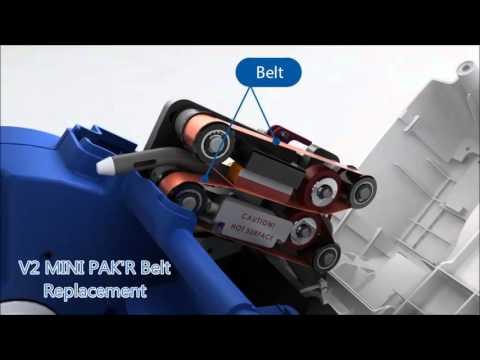 MINI PAK'R V1 & V2 Belt and Strip Replacement