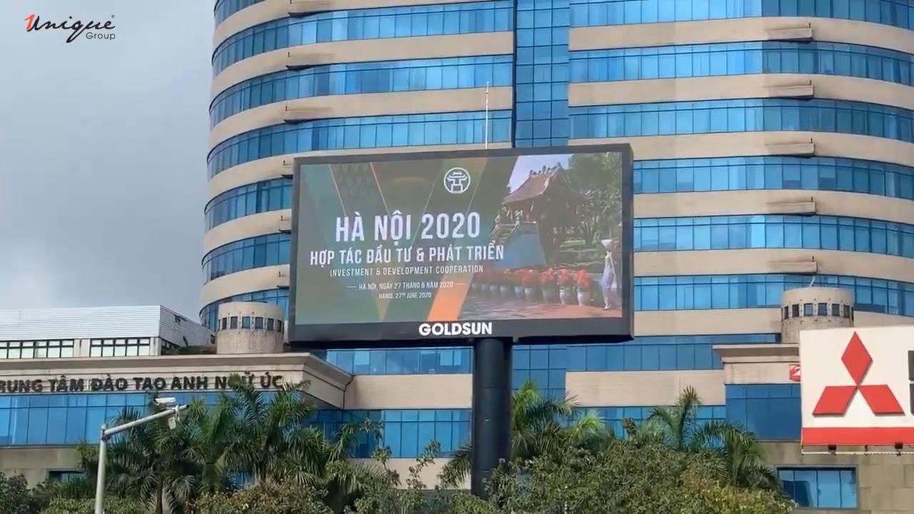 Màn hình Led quảng cáo ngoài trời tại ngã tư Kim Liên (Xã Đàn – Giải Phóng)