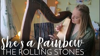 She's a Rainbow - The Rolling Stones (Harp Cover : short version for bride's entrance)