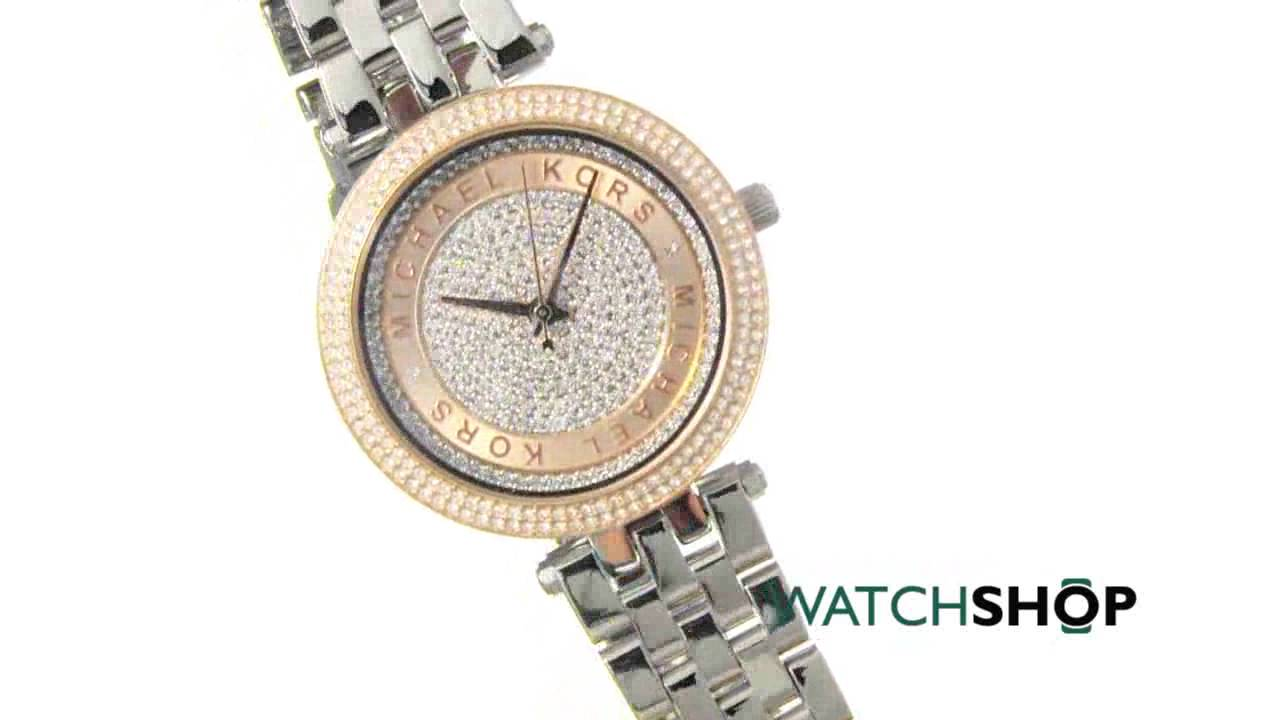 d83cdcbe465a Michael Kors Ladies  Mini Darci Watch (MK3446) - YouTube