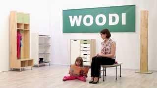 Шкаф и скамья для раздевалки для детского сада.(Представляем мебель для раздевалок в детском саду. Теперь одевать и раздевать ребенка становится гораздо..., 2013-08-21T05:55:49.000Z)