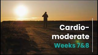 Cardio Moderate Prescription - Week 7&8 (Control)