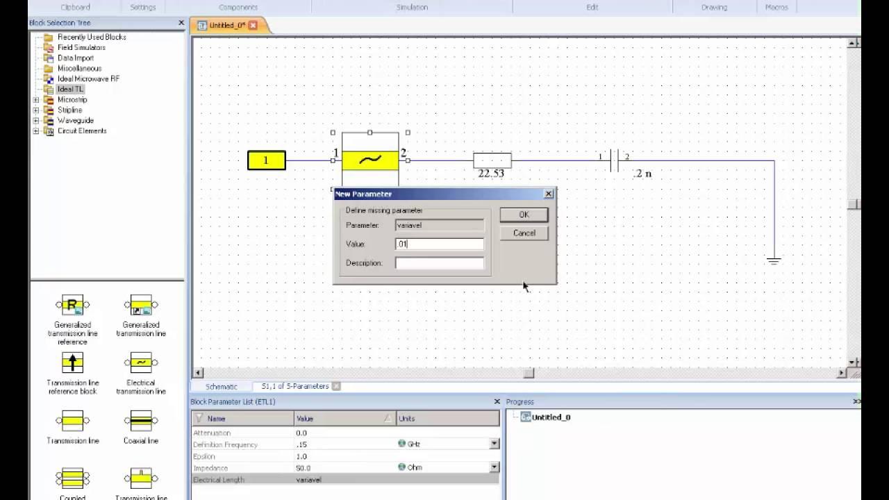 Cst Design Studio Quarter Wavelength Transformer Example Optenni Lab Matching Circuit Generation And Antenna Analysis Software