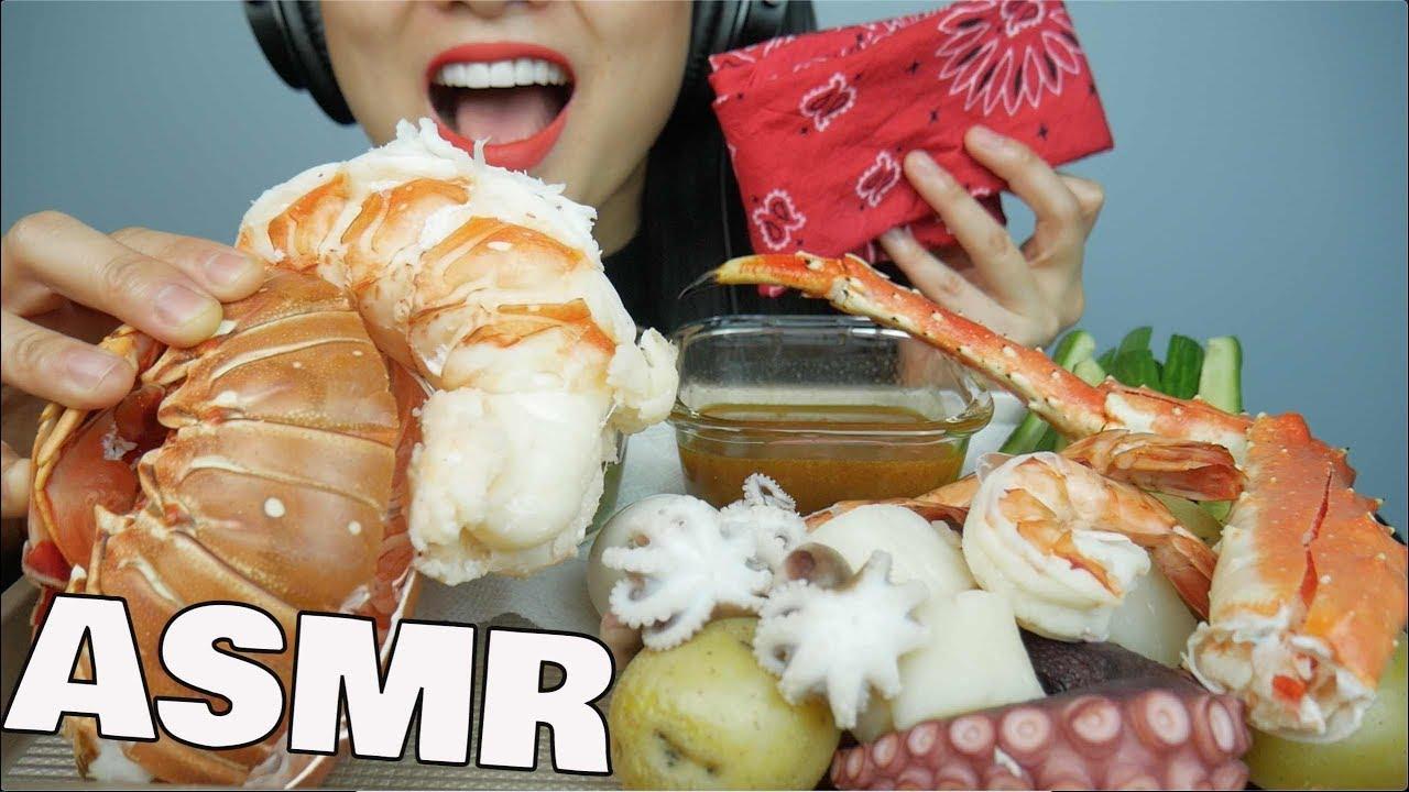 Asmr Seafood Boil Giant Lobster King Crab Octopus Shrimp Eating Sounds Sas Asmr Youtube • 4,8 млн просмотров 9 месяцев назад. asmr seafood boil giant lobster king crab octopus shrimp eating sounds sas asmr