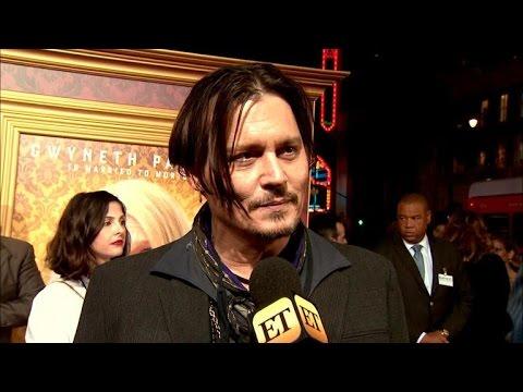 Johnny Depp Admits That He's 'Weird'