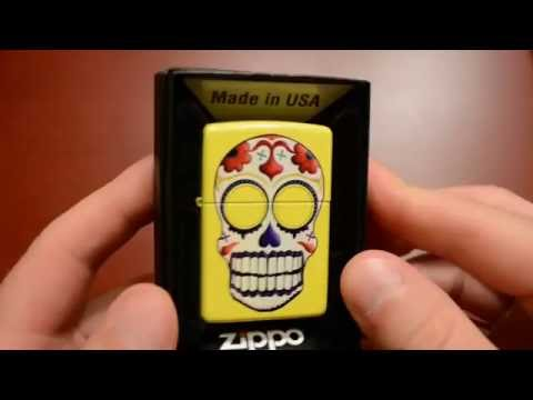 Zippo Review #10 - Day of the Dead