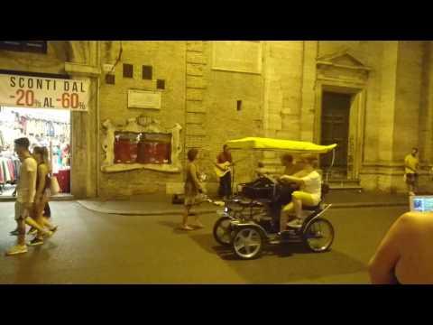 Massive attack teardrop Rome busker