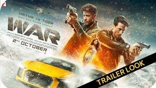 War || Trailer Look Poster || Tiger Shroff || Hrithik Roshan || Vaani Kapoor