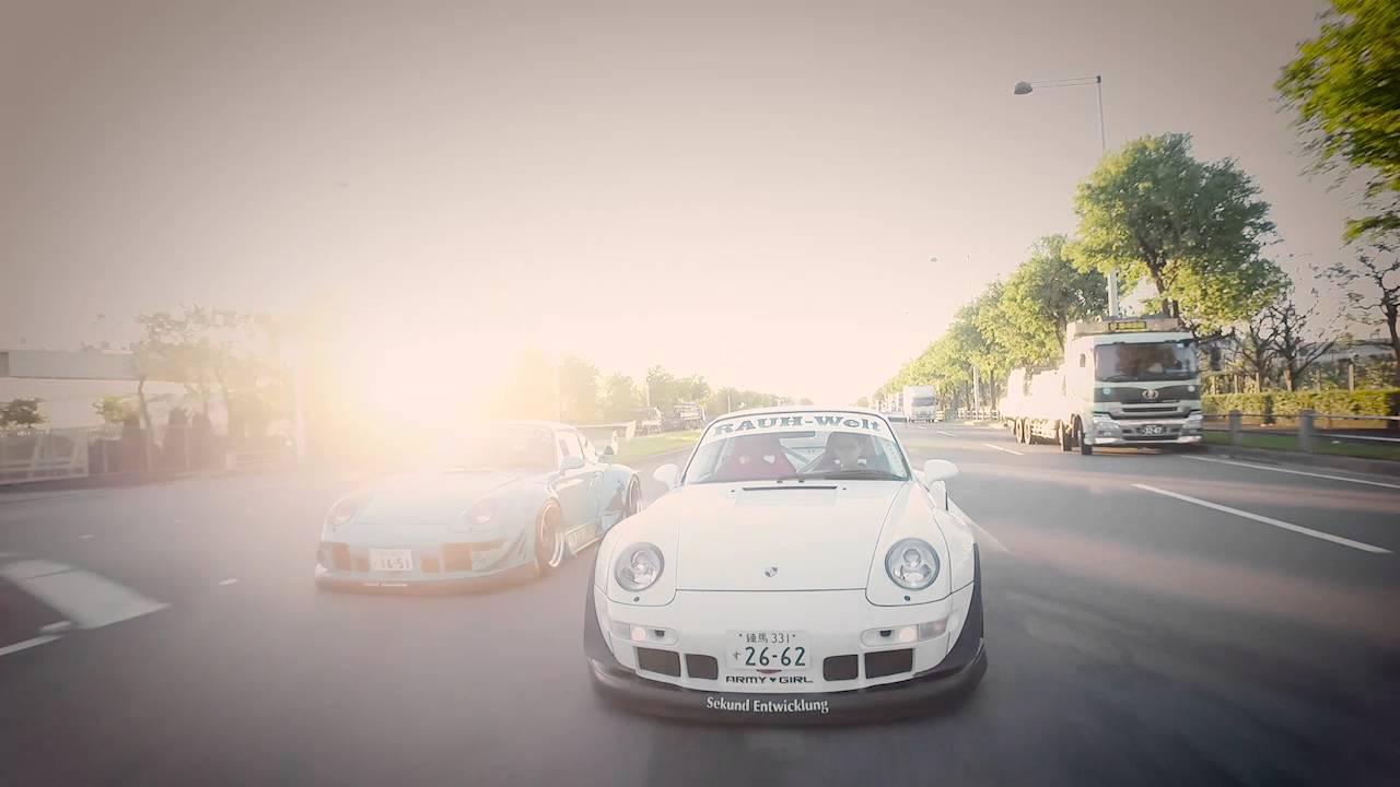RWB x ARMYGIRL collaboration Porsche for TOKYO AUTO SALON 2016