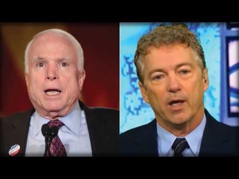 KILL SHOT! WHAT RAND PAUL JUST SAID WILL PUT THE FINAL NAIL IN JOHN MCCAIN'S CAREER…