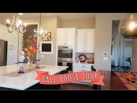 FALL HOUSE TOUR | Saturday Vlogging
