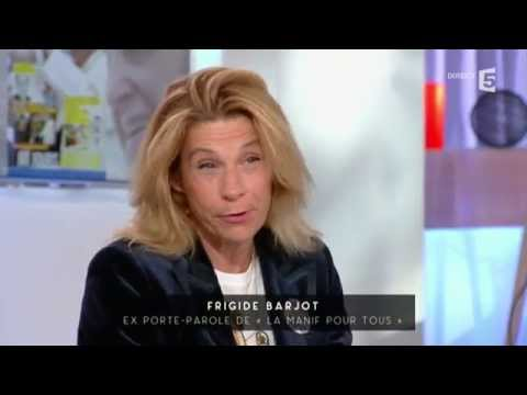 Le retour de Frigide Barjot - C à vous - 19/10/2015