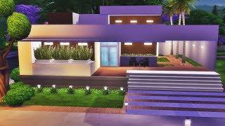 JOGO BASE - CASA MODERNA TÉRREA │The Sims 4 (Speed Build)