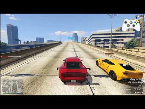 GTA V Online Race #668 Skyline Raceway