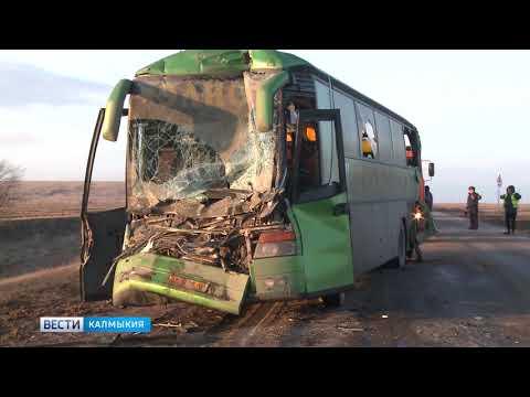 По факту крупной автоаварии в Калмыкии возбуждено уголовное дело.