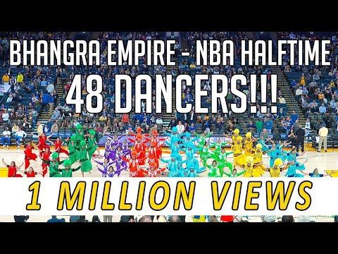 Bhangra Empire @ NBA Halftime Show (Warriors vs. Suns) 2018