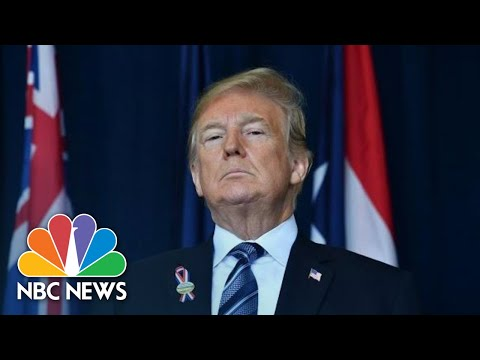 President Trump At 9/11 Memorial: 'We Remember The Moment When America Fought Back' | NBC News