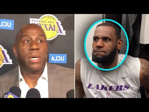 """LeBron James Says """"TRADE ME TO THE WARRIORS TODAY"""" And Magic Johnson IS UPSET"""