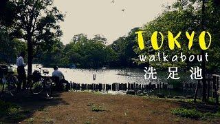 洗足池のほとりを歩く Walking around Senzoku pond #Tokyo #Walkabout