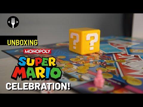 Unboxing: Monopoly Mario Bros. Celebration