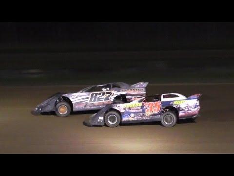 Crate Late Model Heat One | McKean County Raceway | Fall Classic | 10-14-16