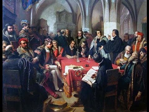 Martin Luther: Speyer To Marburg