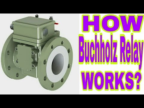 WORKING OF BUCHHOLZ RELAY IN HINDI YouTube