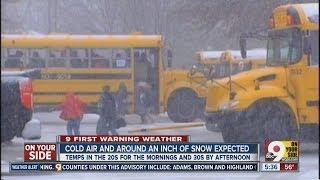 Snow day or delay? How schools decide