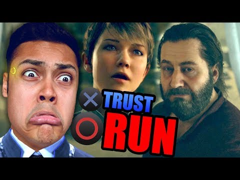 DO WE TRUST HIM? OR RUN? (Detroit Become Human) #6