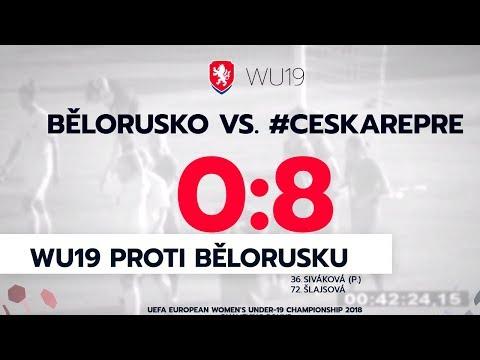 WU19: Bělorusko - Česká republika 0:8 (0:3)