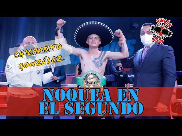 """Chicharito"" González noquea en dos"