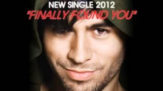 Enrique Iglesias ft. Sammy Adams - Finally Found You (Bassjackers Remix)