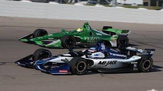 アイオワ・スピードウェイで開催されたインディカー・シリーズ第11戦。8...