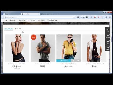 How to make your theme look like the panda theme demo store 3