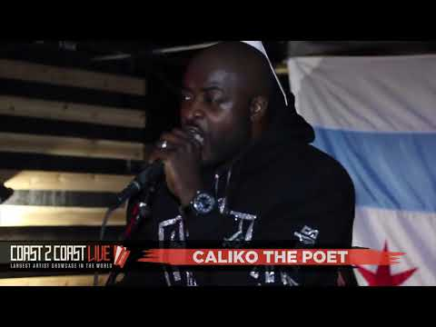 Caliko the Poet Performs at Coast 2 Coast LIVE | Chicago Edition 4/22/18 - 5th Place